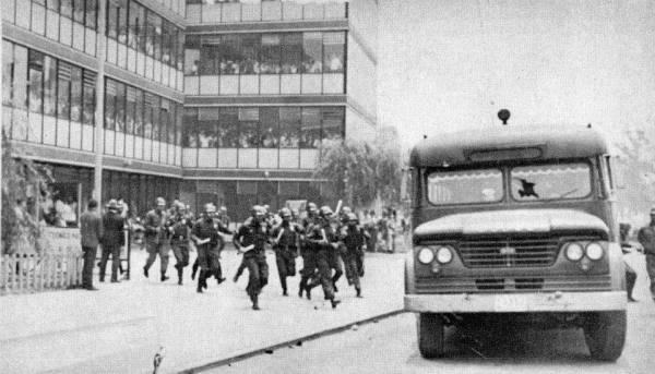 23 de julio de 1968, de la vena histórica del PRI represivo.